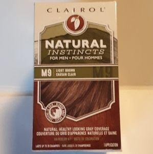 3 Clairol Natural Instinct for Men Hair Color M9